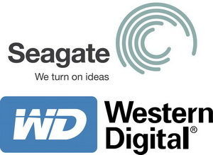 Seagate et Western Digital