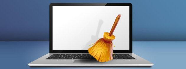 L'opération de nettoyage de l'ordinateur peut commencer !