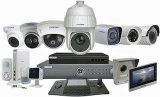 Matériel complémentaire aux caméras IP (NVR, câbles RJ45...)