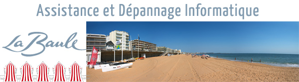 reparation ordinateur La Baule